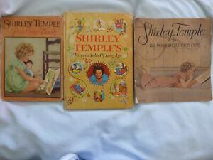 THREE (3) SHIRLEY TEMPLE books