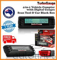 TurboGauge IV ScanGauge 2 OBD2 Auto Scan Tool Digital Gauge Car Trip Computer