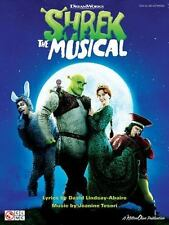 SHREK THE MUSICAL - VOCAL SELECTIONS SONGBOOK 2501371
