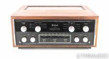 McIntosh C28 Vintage Stereo Preamplifier; C-28; Walnut Cabinet