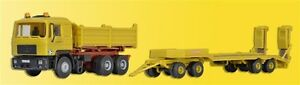 Kibri 14066 Man Benne Avec Semi-Remorque Kirchhoff, Kit de Montage, H0