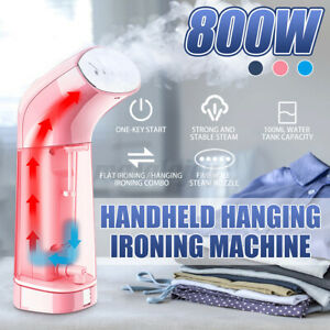 Travel Steam Iron Handheld Clothes Brush Garment Steamer Machine Portable #v x*