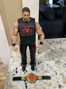 WWE Mattel Elite Ringside Kevin Nash Flashback Wrestling Figure NWO Belt