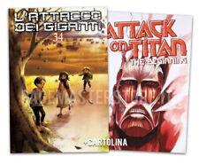pre-ordine L'ATTACCO DEI GIGANTI Nr. 34 VARIANT + BEGINNING booklet Planet Manga