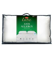 Tontine Luxe Anti Allergy Low| Medium| High Profile Polyester Pillow RRP $39.95