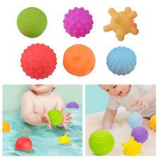 6pcs Baby Kid Sensory Development Ball Toy Learning Grasping