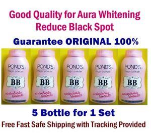 Set 5 Pond's BB Magic Powder Oil Blemish Control UV Protection Face Body 50 g.