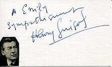 """ACTOR HENRY (HENRI) GUISOL FRENCH ACTOR """"LOLA MONTES"""" SIGNED CARD AUTOGRAPH"""