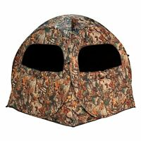 Barronett Blinds Terminator Waylay Camo Portable 2 Person Hunting Ground Blind