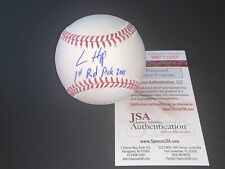 Ian Happ Chicago Cubs Autographed Signed Baseball JSA COA IMPERFECT 1st Rd Pick