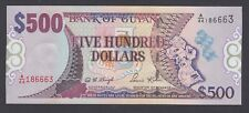 Guyana  500 Dollars  1996  AU-UNC  P. 32,  Banknote, Uncirculated