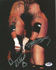 Bill Goldberg & Diamond Dallas Page DDP Signed 8x10 Photo PSA/DNA COA WCW WWE