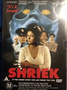 Shriek If You Know What I Did Last Friday The 13th DVD SCREAM SPOOF PARODY MOVIE