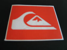 quiksilver vinyl surfing windsurf car campervan graphic decal sticker 100mm ,