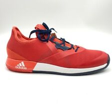Adidas Adizero Defiant Bounce Mens Tennis Shoes Red Low Top Mesh CM7742 12 New