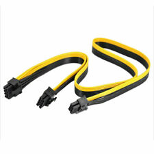 2X For Silverstone Modular PSU PCI-e 8Pin to 6+2 Pin 8 Pin Power Supply Cable JP