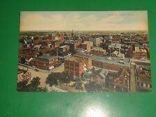 ZT792 Vintage Postcard Bird's Eye View of Quincy Illinois