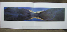 Stephen Lyman Sunrise in the Wallowas 1999 mini print limited edition Lake Mtns