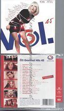 CD--VARIOUS--Ö3 GREATEST HITS VOL.45