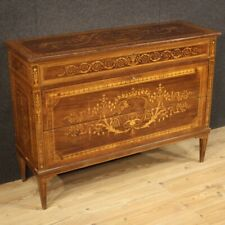 Dresser Antique Style Louis XVI Wood Inlaid Furniture Chest of Drawers 900
