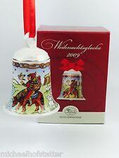 Hutschenreuther Weihnachtsglocke Porzellanglocke Glocke 2009 mit Verpackung NEU