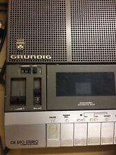 MAGNETOPHONE PORTABLE LECTEUR/ENREGISTREUR CASSETTE GRUNDIG CR590*