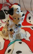 """Disney 101 Dalmatians  Bank With bottom plug 6"""" by 4"""" rubber"""