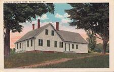 Postcard Lillian Nordica Home Farmington Me