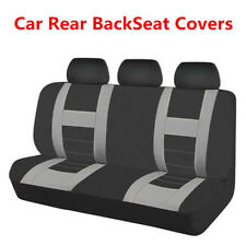 New Car Rear Back Seat Covers Cushions Protectors Mesh Fabric Combo Washable