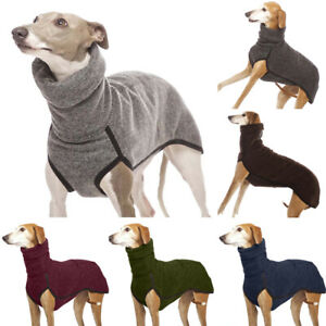 Pet Dog Cat Winter Fleece Vest Jacket Jumper Sweater Warm Coat Puppy Clothes