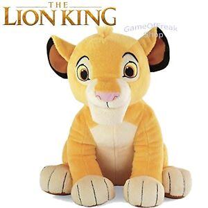Figura SIMBA DISNEY EL REY LEON / THE KING LION Plush / Peluche Figure 30 cm