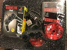RESIDENT EVIL CONTROL PAD ASCII PS1 PLAYSTATION 1 SLEH-00011 +RESID' EVIL 2 GAME