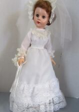 "Vintage Bride doll, 20"" tall, Marked 20 HD or HH,"