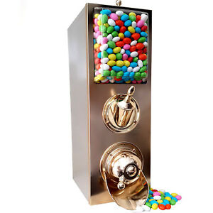 Candy Shop Dispenser with Scoop /Brass
