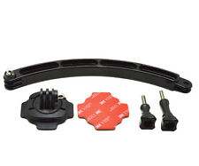 Extension casque bras et rotatif 360 mount 3M Stickers et vis pour gopro