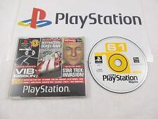 playstation 1: official uk playstation DISC 61 -demo disc-