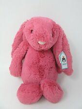 JellyCat medio despego Fresa Bunny BNWT A4