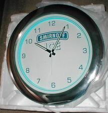 Brand New Smirnoff Ice Lighted Clock BAR / BEER SIGN