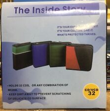 Soft sided CD Cases Green ($7.00)