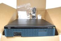 CISCO 2951/K9 GIGABIT ROUTER  W/ EHWIC 1GE-SFP-CU VWIC3-2MFT-T1/E1 EVM-HD SM-NM