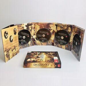 Deadwood : Season 1 (DVD, 2005, 4-Disc Set) Excellent Condition FREE POST