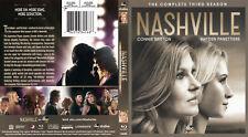 NASHVILLE SEASON 3  BLU RAY 3 DISC SET