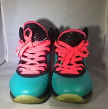 Nike Lebron 8 South Beach Size 8.5 Pre Heat RARE Miami Nights Worn Minimal
