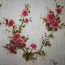 57cm x 57cm Genuine Vintage Retro Floral Barkcloth Fabric, Cushions, Curtains