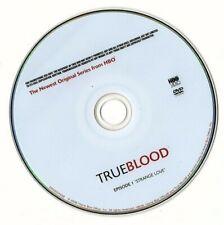 "TRUE BLOOD EPISODE 1 ""STRANGE LOVE"" (....dvd disc only...no case.)"