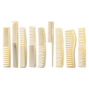 Plastic Salon Hair Care Styling Cutting Brush Barber Hairdressing Hair Comb A#S