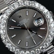 Relojes de pulsera Rolex de acero inoxidable resistente al agua
