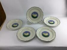Mikasa French Countryside Circle 5 Hen Dinner Plates Excellent F9014