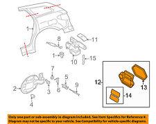 MAZDA OEM 04-11 RX-8 Exterior-Pressure Vent BJS751920