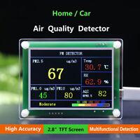 2.8'' TFT PM1.0 PM2.5 Detector Air Quality Tester Meter Monitor Sensor PMS5003